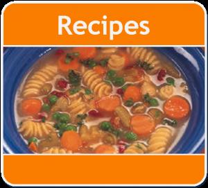 Recipes Button