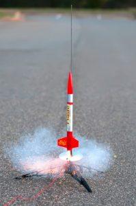 hobby-rocket-model
