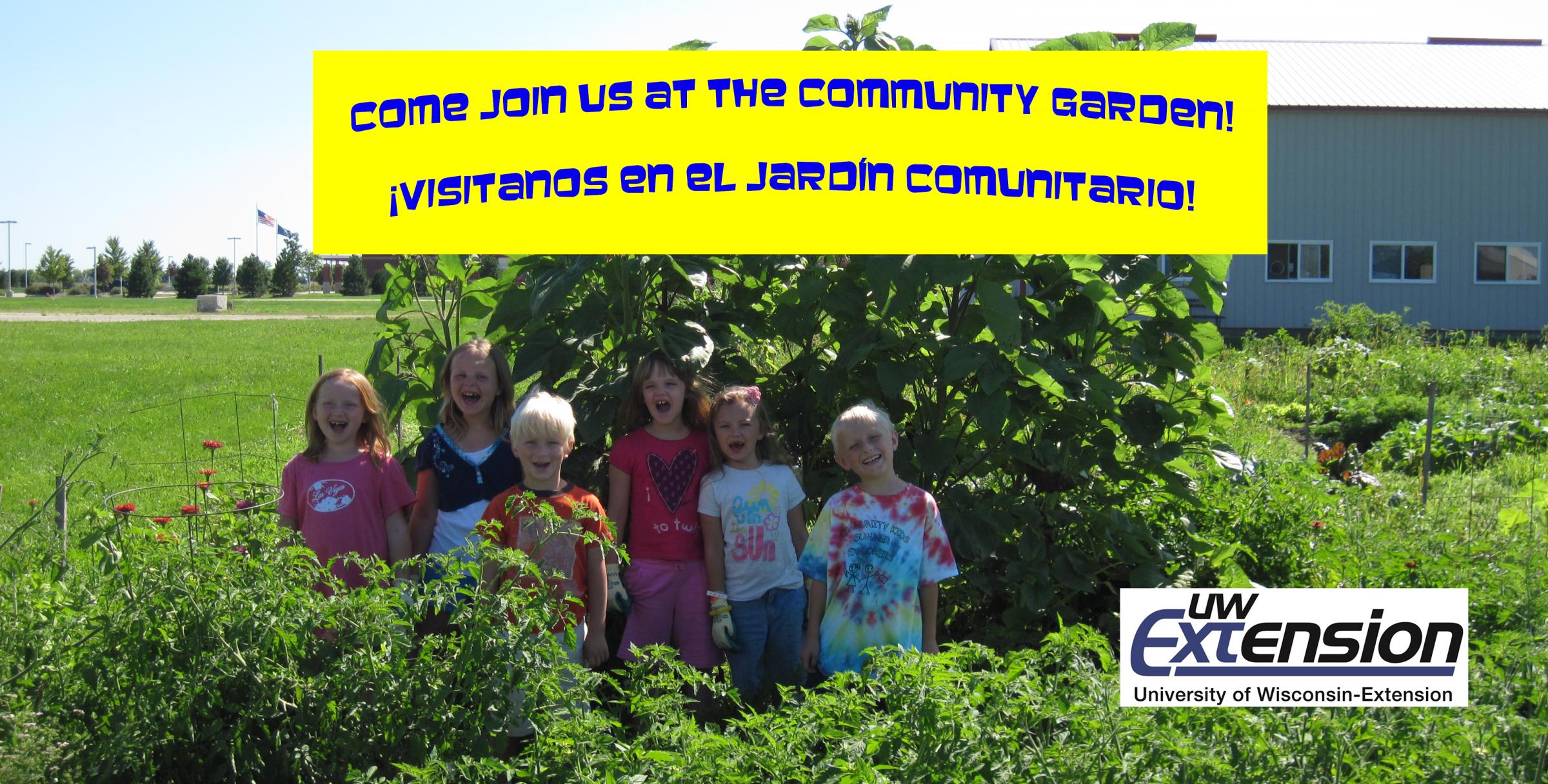 Community Garden/Jardín Comunitario