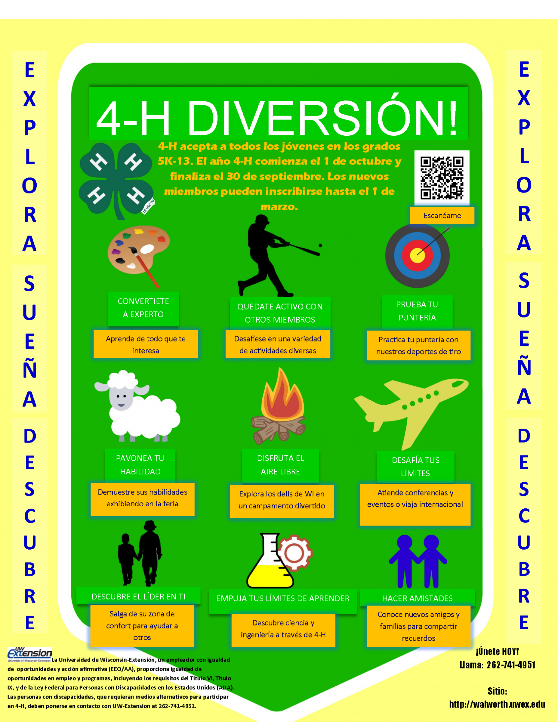 4-H & Youth – Extension Walworth County